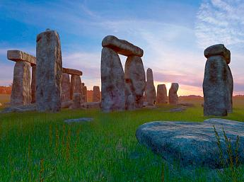 Stonehenge 3D Screensaver