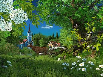 Summer Wonderland 3D Image plus grande