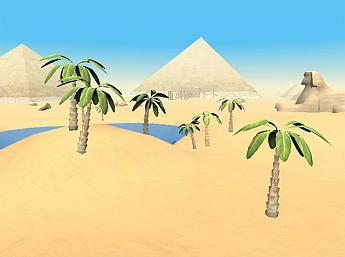 The Pyramids of Egypt 3D