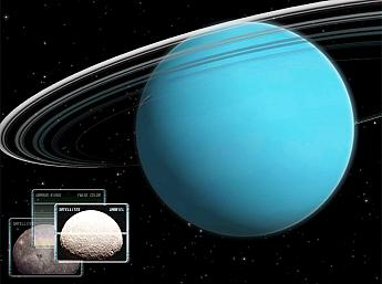 Uranus 3D Space Survey for Mac OS X Screensaver