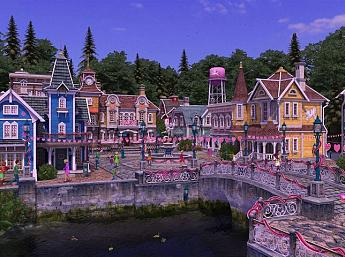 Valentine Village 3D Screensaver