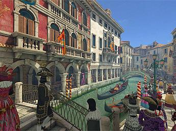 Venice Carnival 3D Screensaver