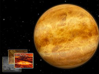 Venus 3D Space Survey for Mac OS X Screensaver