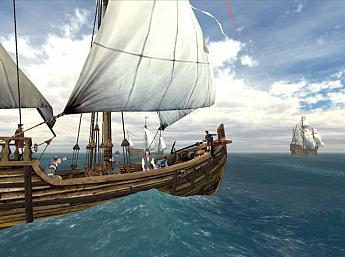 Voyage of Columbus 3D