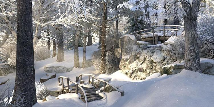 Winter Walk 3D