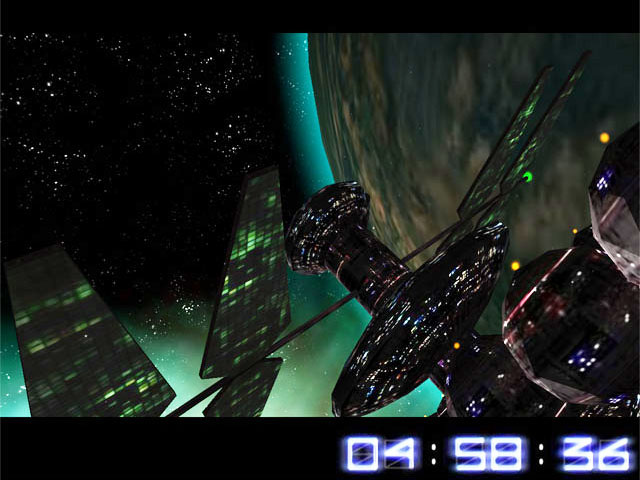 Deep Space Trip 3D Screensaver screen shot