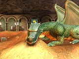 Click to view Dragon Chamber 3D Screensaver 1.0.2 screenshot